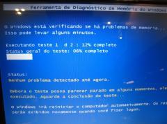 Teste de Memória do Windows