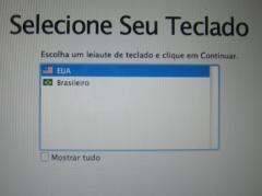 Instalação do MacOSX
