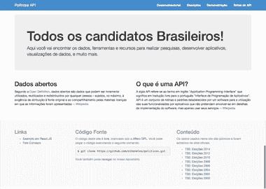 Políticos API